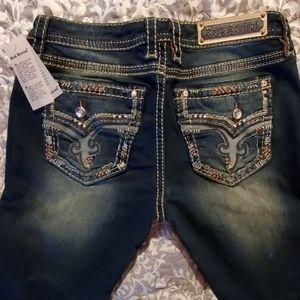 ROCK Revival women's jean boot legs. SIZE 32
